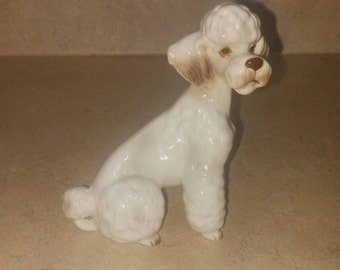 Sale! Ceramic Poodle, Numbered 44 of 808
