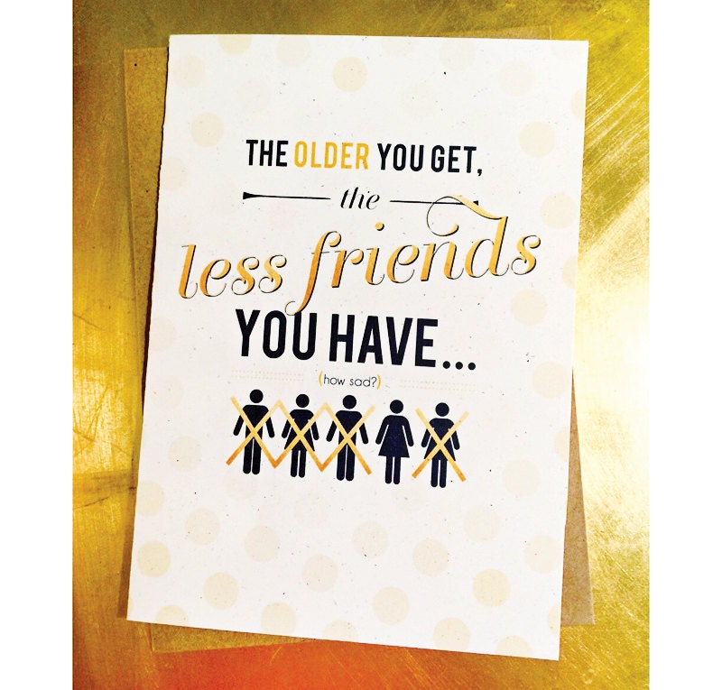 Getting Old Funny Humorous Best Friend Birthday Card – Best Friend Birthday Cards Funny