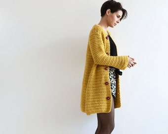 Crochet Cardigan for Women PDF in English