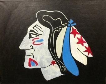 Chicago Blackhawks - Chi-town flag!