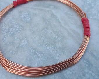 18 Gauge Wire - Round Dead Soft Copper Wire