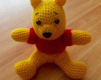 Winnie the Pooh Crochet Doll