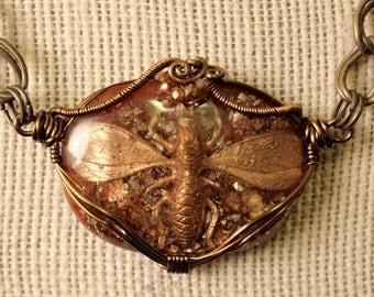 Wasp Queen Pendant