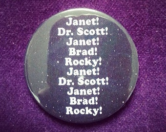 "badge ""rocky horror picture show"""