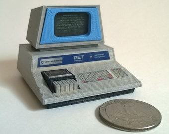 Mini Commodore PET 2001 (Chiclet keyboard) - 3D Printed!