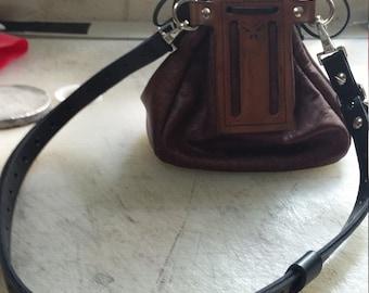 leather sporran belt