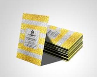 5000 Metallic Finish Business Cards