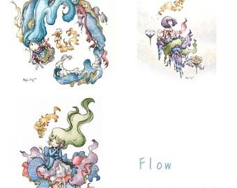 Flow Series - Limited Edition 3 Print Set