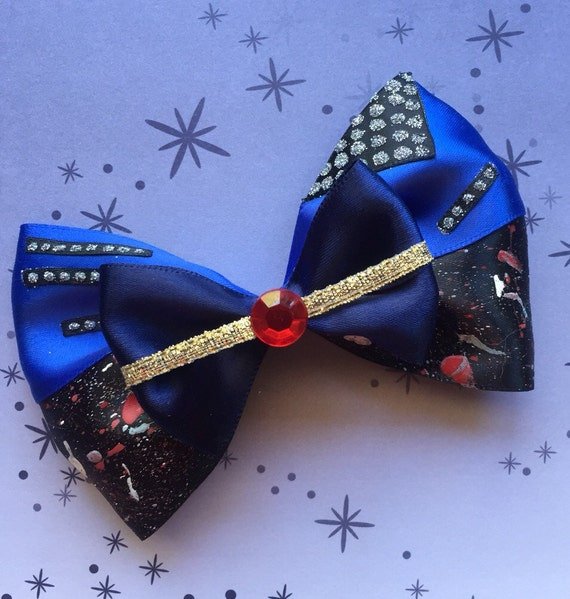 Disney Descendants Evie Inspired Hair Bow