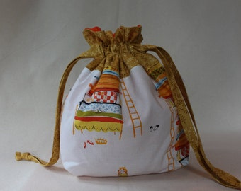 Princess & the Pea Project Bag