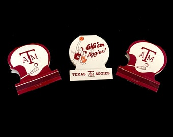 Vintage Aggie Matchbooks