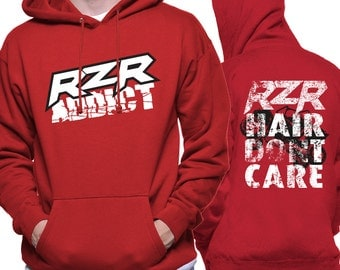 RZR tribute hoodie - RZR hair dont care