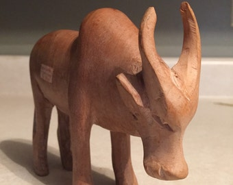 Wooden African Ox item 60