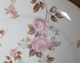Decorative China Plate, Noritake China, Made in Japan, Pattern is Rosilla, China Collection, Very Collectible, Home Decoration, Roses, NICE