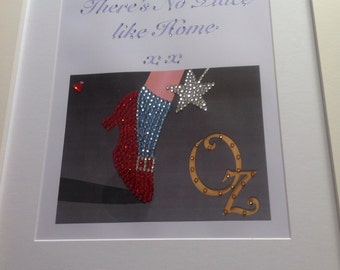 There's No Place Like Home Diamanté Picture