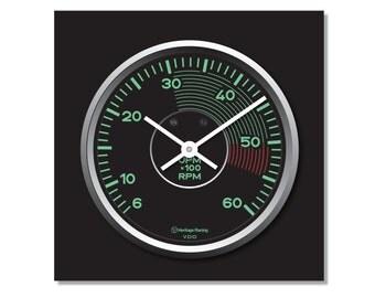 Porsche 356 Tachometer Clock
