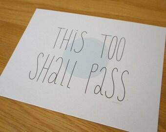 this too shall pass - print - ok go lyrics