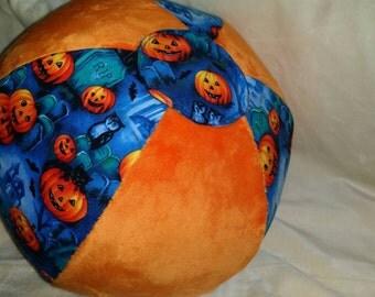 Halloween Themed Fabric Beach Ball