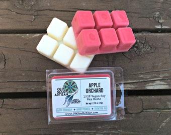 30% off - Dye-Free Soy Wax Melts - Apple Red - Wax Melts - Tart Melts - Apple Orchard Clamshell