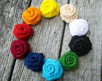 White Flower Lapel - Black Flower Lapel - Fabric Lapel Flower - Cream Lapel Flower - Rolled Flower Lapel - Yellow Lapel Pin-Men Lapel Button
