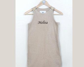100% Organic Turkish Cotton Baby Sleepsack, personalized, wearable cotton blanket, sleeping bag, baby gift
