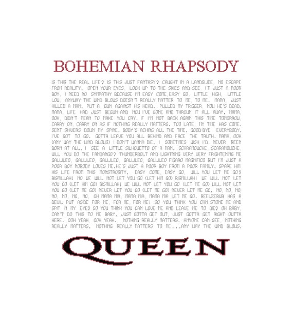 queen bohemian rhapsody lyrics - photo #6