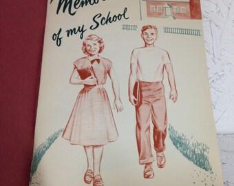 "Flemington- Raritan School Memories of my School7.5x5.25"" #897"