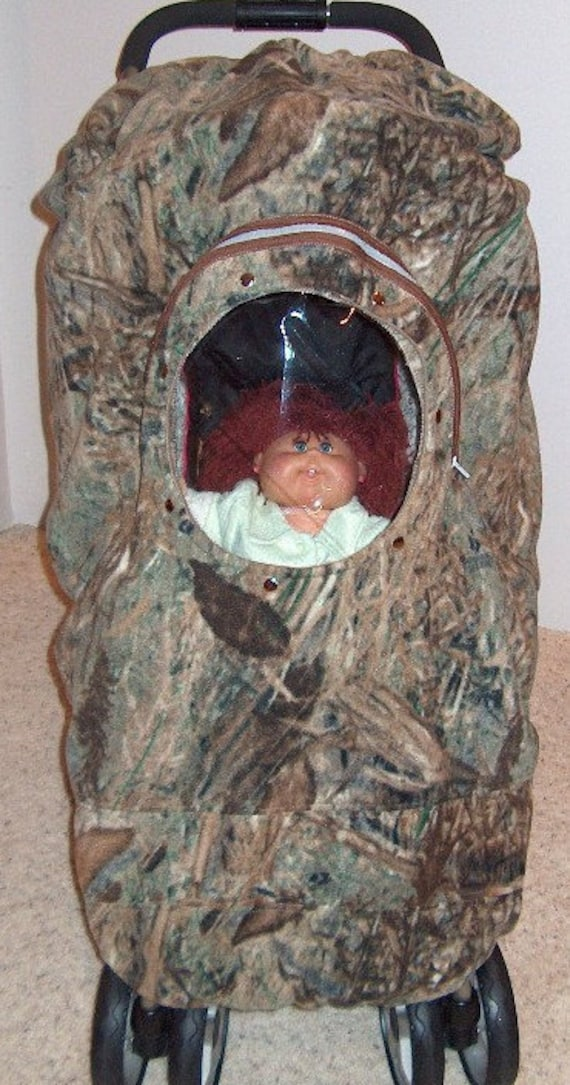 Camo Stroller Cover Baby Mossy Oak Duck Blind By