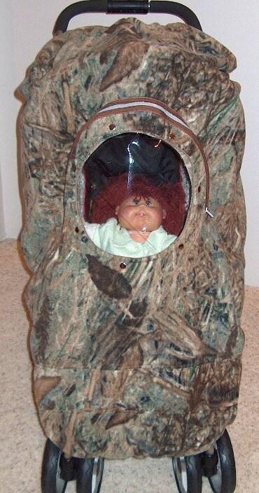 Camo Stroller Cover Baby Mossy Oak Duck Blind By