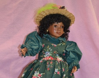 Beautiful Porcelain Doll Hand Made