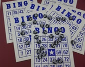 Bingo Cards With Call Numbers and Place Markers (S) ok