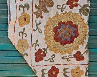 Mini flower antique Suzani 20% off