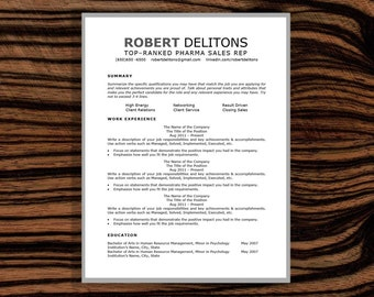sale resume template cover letter cv cover by resumeatelierresume template   cover letter  cv   cover letter designed template  robot friendly resume  ats resume  instant download  docx format