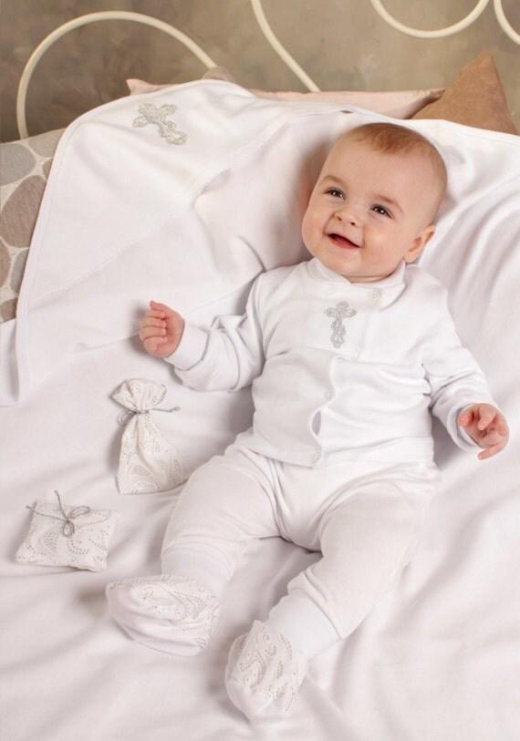 Gift Baby Boy Baptism : Baby boy baptism outfit christening by handmadestorets