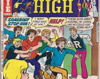 Archie Comic Series No  33, Cat# 06966 Feb 1976 Archie at Riverdale High