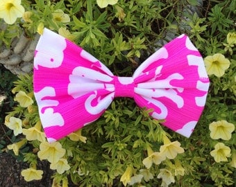 Lilly Pulitzer Hair Bow in Tusk In The Sun