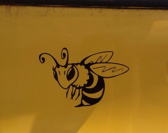 Bumble bee decals etsy for Bumble bee mural