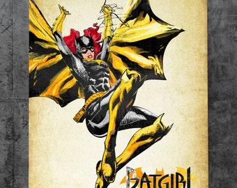 Batgirl - Barbara Gordon Metal Plate