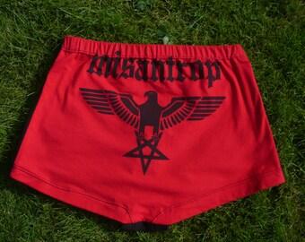 Shining Misantrop hotpants size S M  DarkMotherClothing