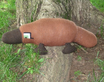 Mike the Platypus pattern