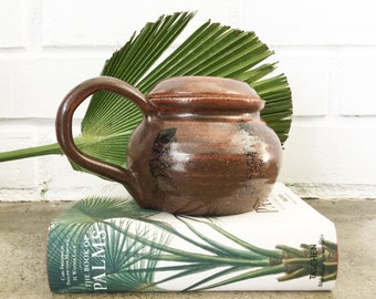 Vintage Studio Pottery Stoneware Kettle Tea Pot