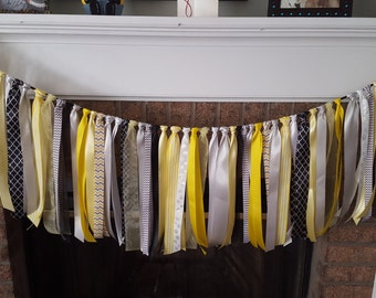 Ribbon banner, Nursery banner, Nursery decor