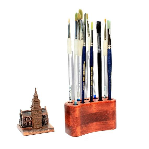 Handmade Paint Brush Holder