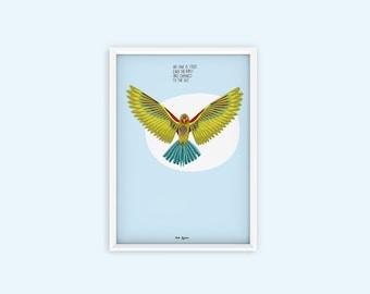 A1 Poster Bob Dylan