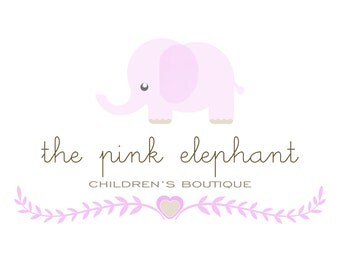 premade logo design, business logo, baby photography logo, children boutique, events logo