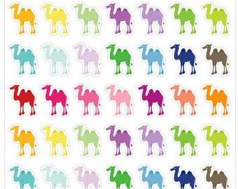 Hump Day Camel Stickers for your Planner, scrapbook, calendar, etc.
