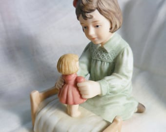 """Enesco Treasured Memories, """"Playing With Dolly"""""""