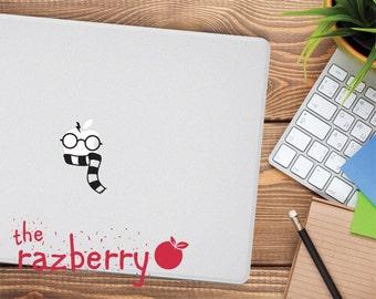 Harry Potter Macbook Decal Sticker Macbook Sticker Macbook Pro Sticker Laptop Decal Hogwarts Sticker Hogwarts Macbook Decal Sticker Potter