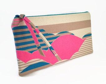 Neon pencil case, Pencil pouch, Artist pencil case, Pencil case for her, Back to school supplies, Pencil zipper pouch, Neon zipper pouch