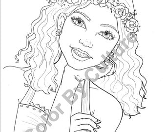 Summer Fashions 5 Printable Coloring Pages Fun Summer